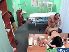 Clinic, Amateur, Blowjob, Couple, HD, Hospital