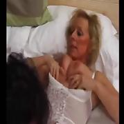 Mature British Nurse Creampied by Patient