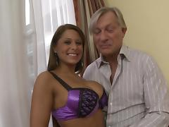 Alison Star Gets Pussy And Asshole Waxed Before Cumshot In Mouth