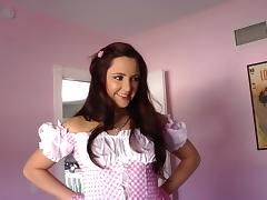 Dynamic maid with hot ass in uniform getting banged hardcore doggystyle