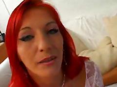 Redhead, Anal, French, Redhead
