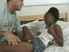 Young ebony sexy