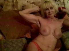 Russiam MILF Rimma Teasing