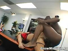 Big Tits Erika Staxxx Sucked A Huge Cock
