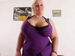 awsome blonde bbw