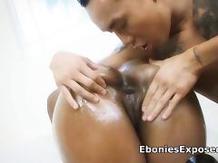 Black Big Tits, Asian, Ass, Big Tits, Blowjob, Boobs