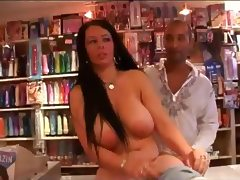 Mature Milf Taken In Porn Shop