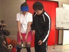 Beautiful porn hottie Ayu Sakurai gets pussy screwed raw and hot