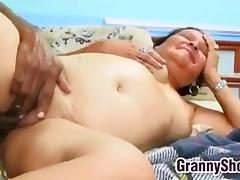 Fat Latin Granny Still Loves Sex