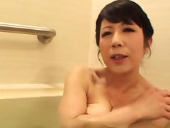 Japanese Granny, Asian, Bath, Bathing, Bathroom, Fucking