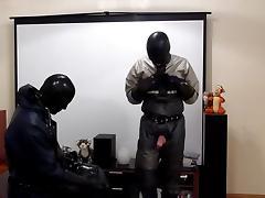 rubber guys having sex