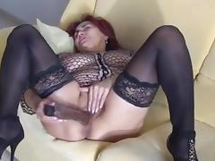 Sexy mature Emilia solo