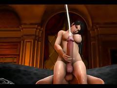 Futa Sandra X Futa Momiji 3D