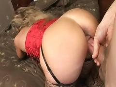Mature Anal, Anal, Assfucking, Mature, Stockings, Double Penetration