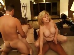 Classic Hot Mature Cougars Foursome porn video