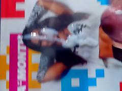 WWE AJ Lee Cum Tribute #7