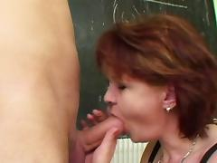 Mom and Boy, Big Tits, Blowjob, Boobs, Cumshot, Facial