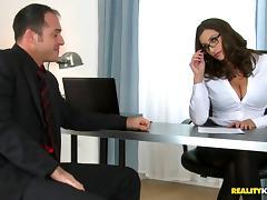 Reality, Couple, Fucking, Glasses, Hardcore, Office