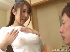 Wet T-shirt, Asian, Babe, Couple, Hardcore, Japanese