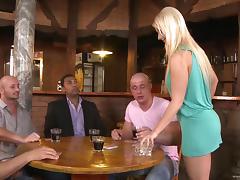Drunk, Anal, Asshole, Banging, Bar, Blonde
