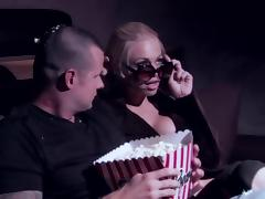 Bra, Banging, Big Tits, Blowjob, Bra, Cinema