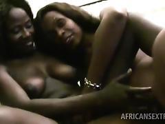 African, African, Black, Blowjob, Ebony, Group