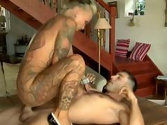 Very tattooed milf get fucked