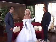 Bride, Anal, Bride, Double, Wedding, Double Penetration