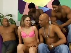 All, Gangbang, Interracial