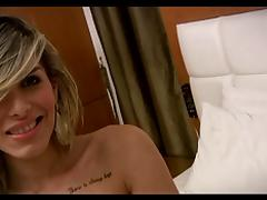 Liah Ferreira - Hot shemale on bed