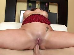 cute chubby MILF hard analsex
