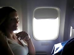 Wife bates on plane