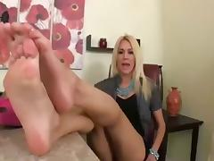 New Boss Foot Worship POV