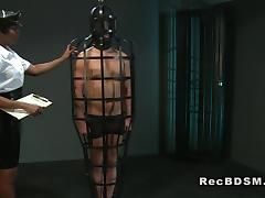 Masked sub fucks ebony mistress black submission