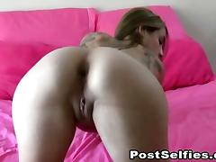 Skinny Amateur Teen Homemade Masturbation