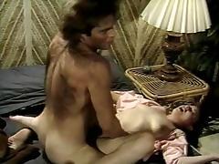 Kelly Nichols, Kristara Barrington, Blossom Lei in classic fuck scene