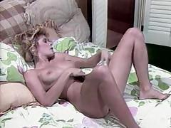 Ginger Lynn Allen, Tom Byron, Pamela Jennings in classic fuck clip