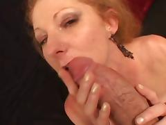 redhead milf gets her hungry pussy banged hard and deep
