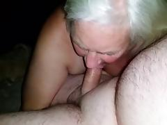 Old, Amateur, Blowjob, Granny, Mature, Old