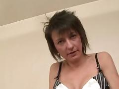 Short-Haired MILF Zaza LaCoquine Interracial Threesome