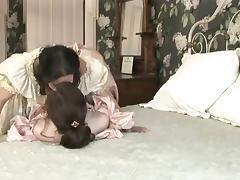 Annabelle  Melissa Lesbian Victorian Seduction