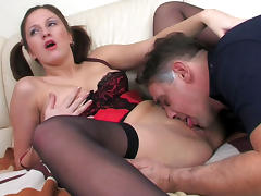 HornyOldGents Scene: Jaclyn and Frank