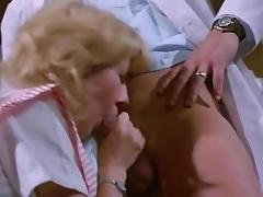 Amber Hunt, Chris Cassidy, Nancy Hoffman in vintage sex movie