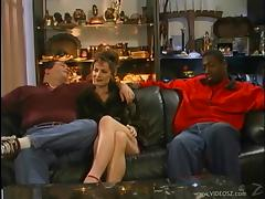 Milf With Small Tits Getting Her Anal Drilled In Interracial Sex