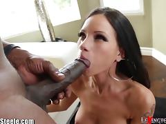 Petite, Big Cock, Big Tits, Blowjob, Boobs, Brunette