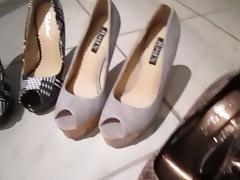 Boots, Boots, Heels, Masturbation, Shoes, Stockings