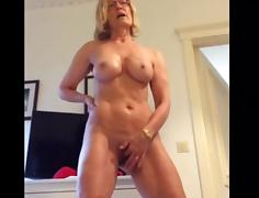 Older, Masturbation, Mature, Old, Older, Old Woman