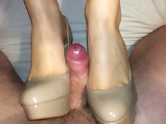 Cum, Boots, Cum, Heels, Nude, Shoes