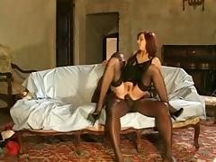 Andrea Mirage Black Stockings Sex