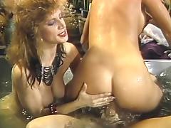 Britt Morgan, Elle Rio, Nikki Knight in vintage xxx clip